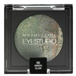 Maybelline EyeStudio Color Cosmos Marbleised  Eyeshadow 50 Green Glam